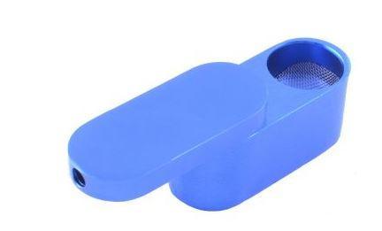 Трубка для курения карманная №HL802-51 Blue