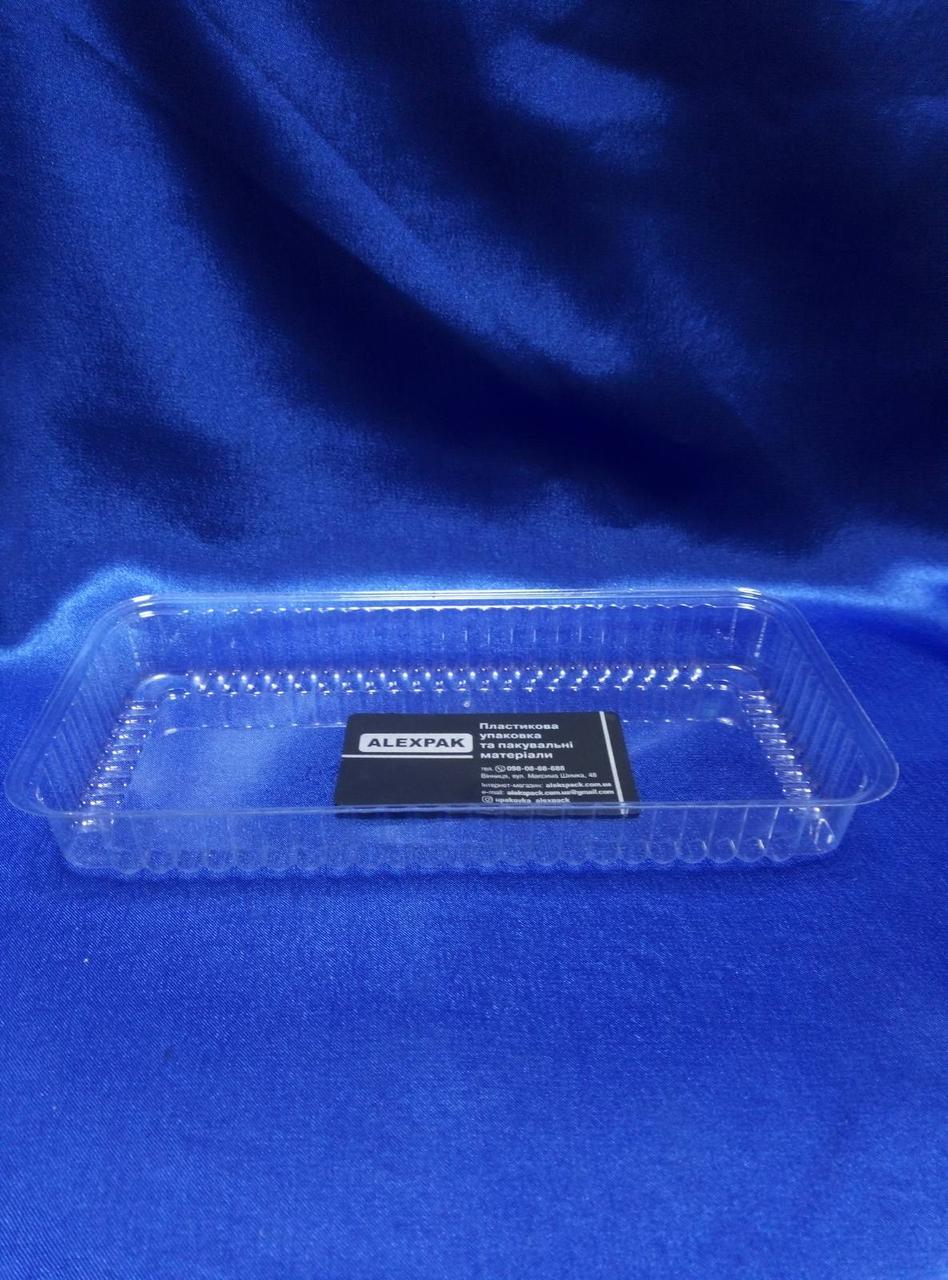 Прямоугольная упаковка для кондитерских изделий под запайку 600мл/1000шт/336