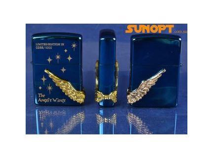 Зажигалка бензиновая Zippo The Angel Wings №4209-3