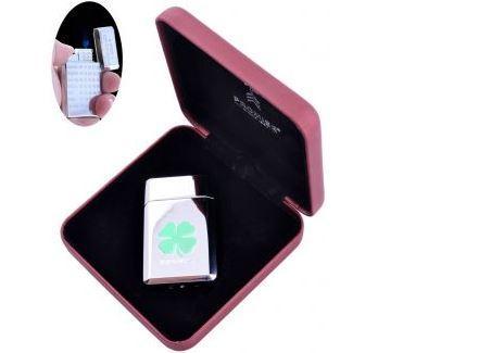 Запальничка в подарунковій коробці Покер (Турбо полум'я) №16656