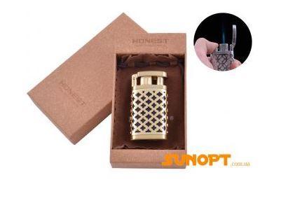 Зажигалка подарочная Honest (Острое пламя) №3538-1