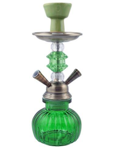 Кальян на две персоны (27см) А006-2 (Зеленый)