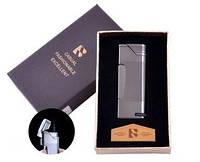 Зажигалка в подарочной коробке FANGFANG (Острое пламя) №4513 Black