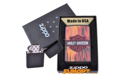 Зажигалка бензиновая Zippo HARLEY-DAVIDSON в подарочной упаковке №4739-2