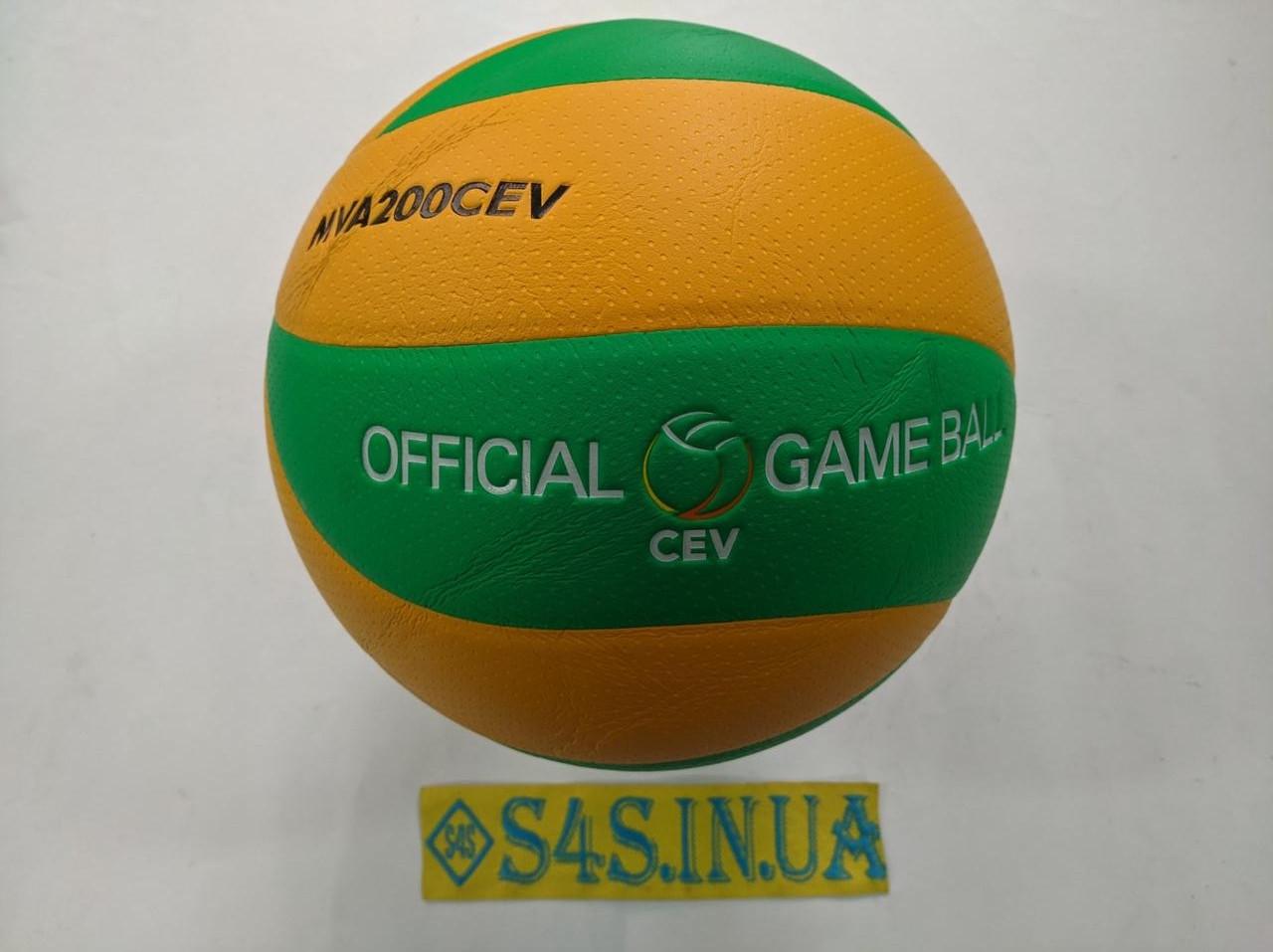 Мяч волейбольный Mikasa MVA200CEV PU