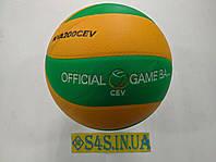 Мяч волейбольный Mikasa MVA200CEV PU, фото 1