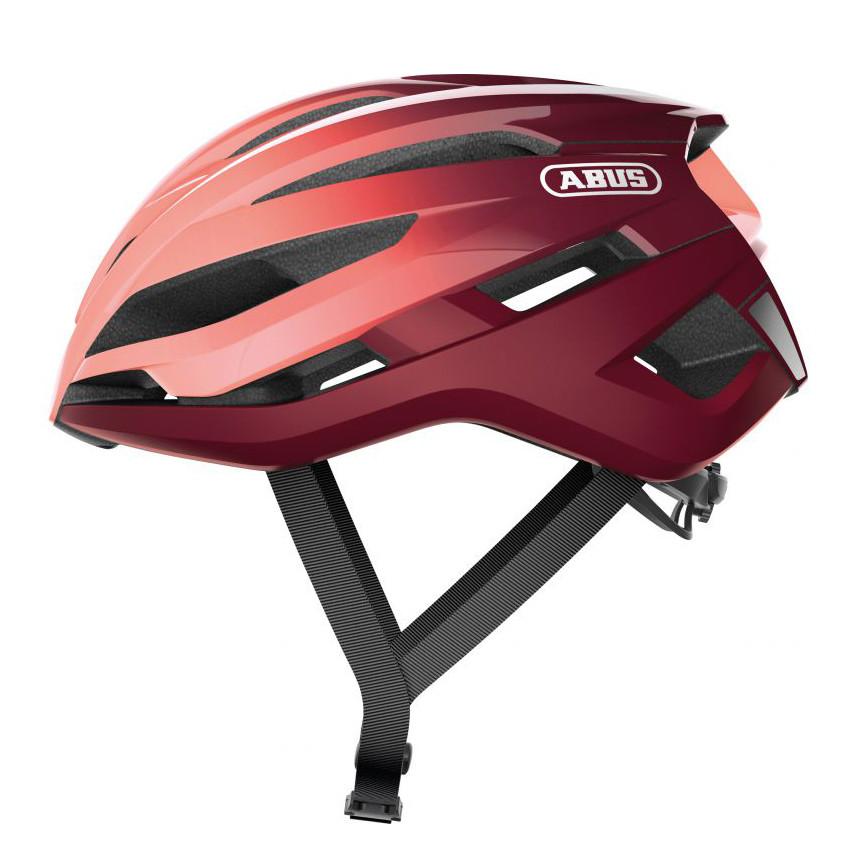 Шолом велосипедний ABUS StormChaser M 52-58 Bordeaux Red