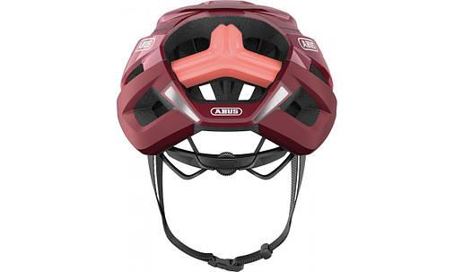 Шолом велосипедний ABUS StormChaser M 52-58 Bordeaux Red, фото 2