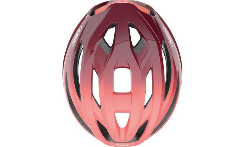 Шолом велосипедний ABUS StormChaser M 52-58 Bordeaux Red, фото 3