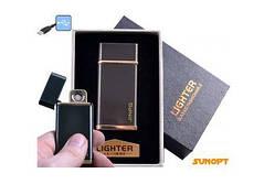 """USB запальничка в подарунковій упаковці """"JINPG"""" (спіраль розжарювання) №4786-3"""
