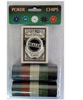 Фішки для покеру 80шт і колода карт №80Р-В