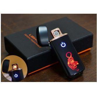 USB зажигалка в подарочной коробке Тигр №HL-121-2
