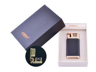 Электроимпульсная зажигалка в подарочной упаковке Jobon (Двойная молния, USB) №HL-9-1