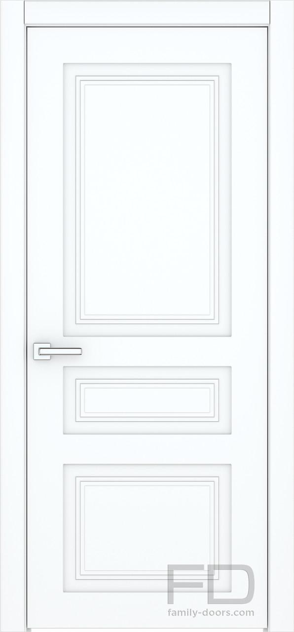 Межкомнатные двери Классик 3 (Эмаль)