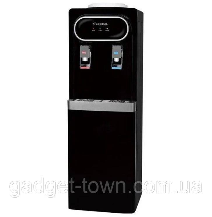 Кулер для води Lexical підлоговий компресорний охолодження/нагрів 550W/90W підлоговий диспенсер води