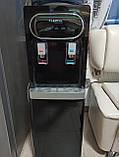 Кулер для води Lexical підлоговий компресорний охолодження/нагрів 550W/90W підлоговий диспенсер води, фото 7