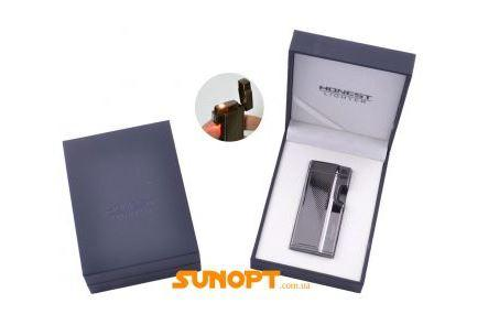 Зажигалка электронная в подарочной коробке Honest (Турбо пламя) №XT-3536-2