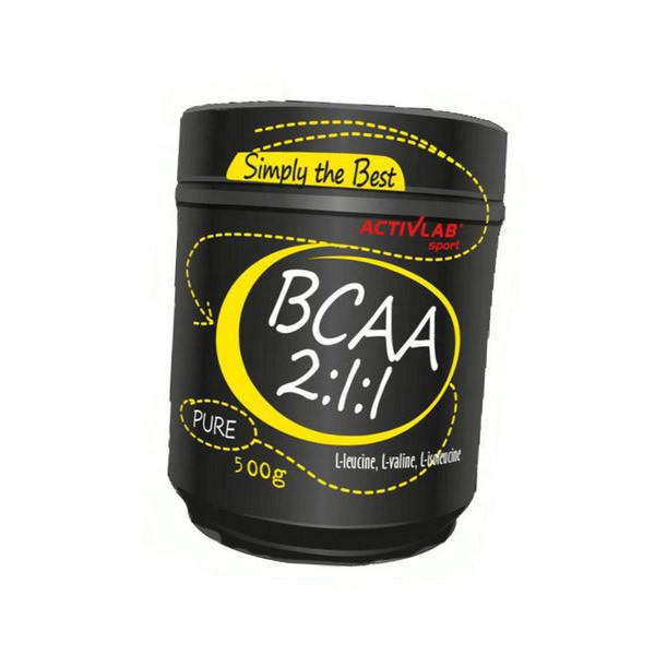 Амінокислоти bcaa Activlab BCAA 2:1:1 500 g