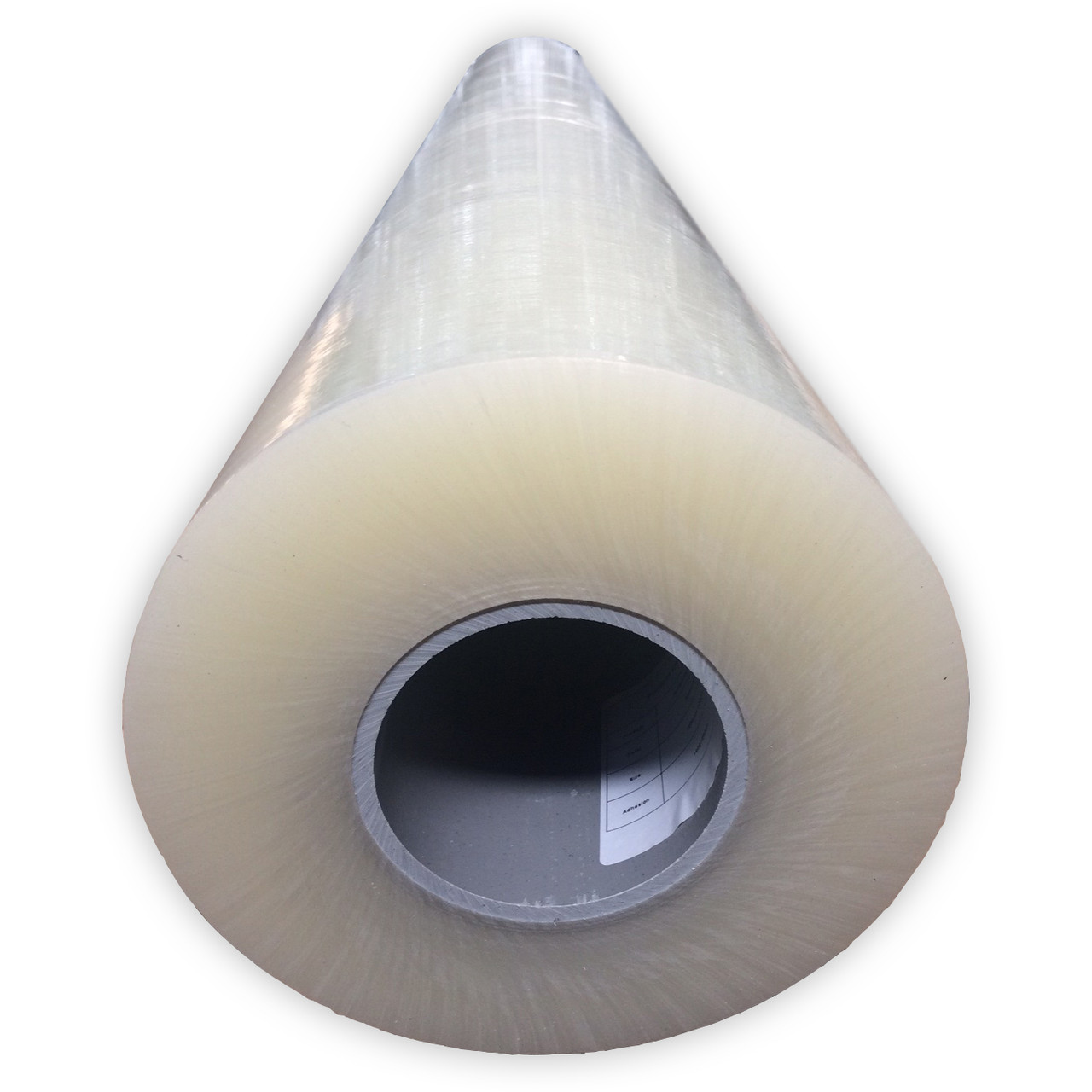 Пленка защитная самоклеющаяся для металла матового и полуматового 1250мм * 1000м (25мкм, 250г х 25мм)