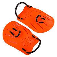 Лопатки для плавания детские Cima CM-22 оранжевый