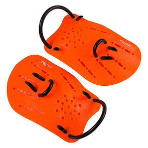Лопатки для плавання дитячі Cima CM-22 помаранчевий