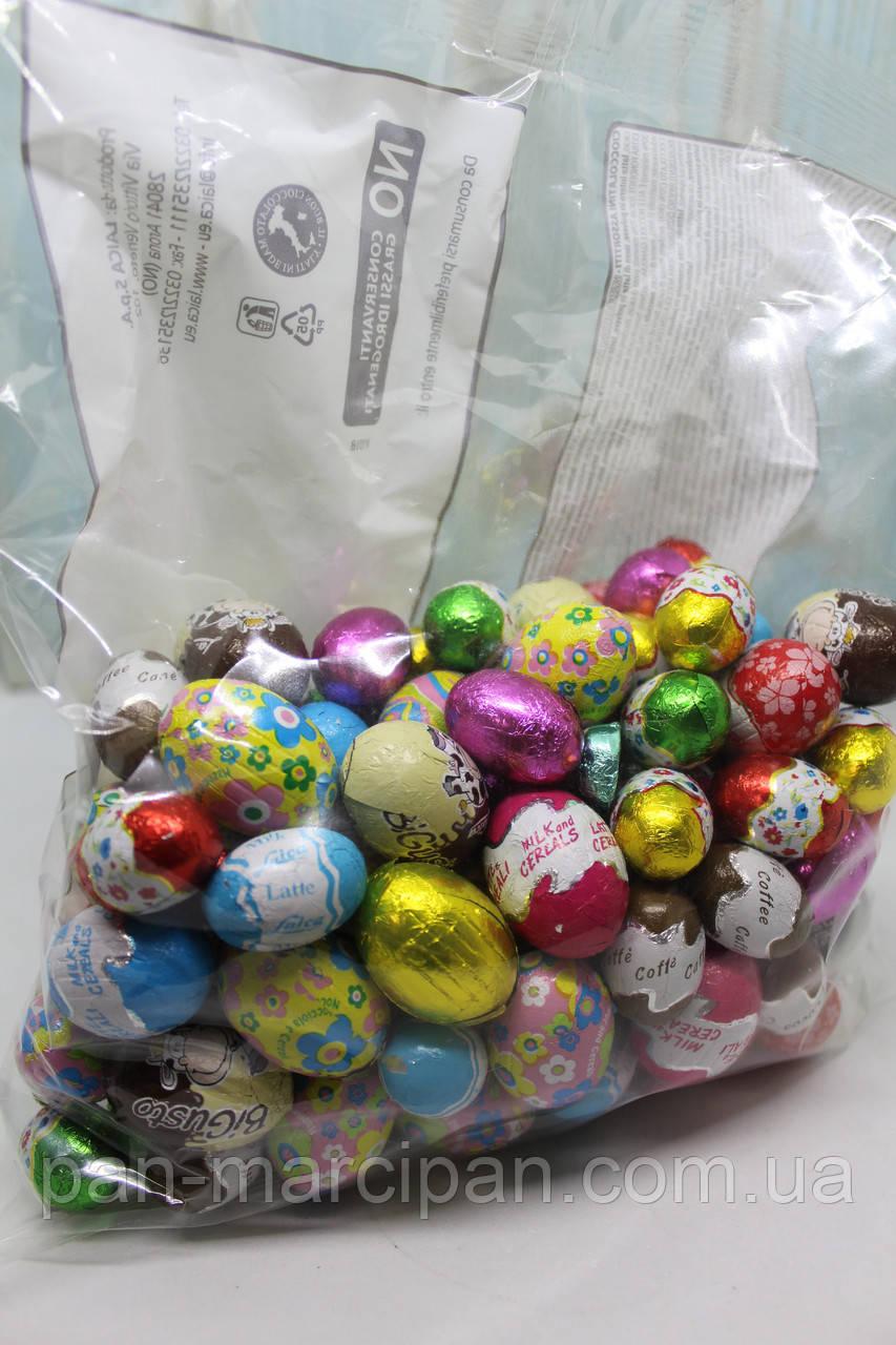 Набір шоколадних яєць Laica Ovetti 1 кг Італія