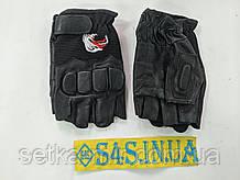 Рукавички спортивні багатоцільові BC-160 (шкіра), розміри в асортименті