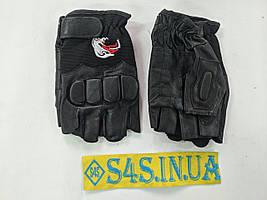Перчатки спортивные многоцелевые BC-160 (кожа), размеры в ассортименте L