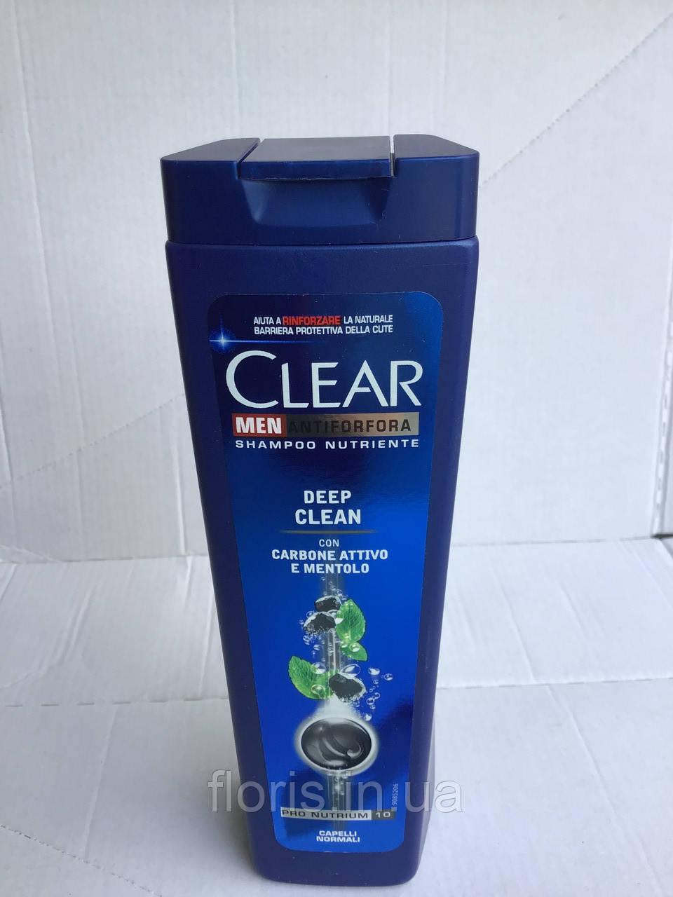 Шампунь против перхоти Clear Глубокое очищение 250 мл