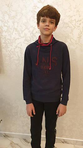Подростковый реглан на мальчиков 134,140,152,164 роста JNS, фото 2