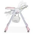 Стільчик трансформер для годування Bambi M 3233 Unicorn Pink Єдинороги, фото 4