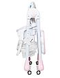 Стільчик трансформер для годування Bambi M 3233 Unicorn Pink Єдинороги, фото 6