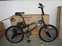 """Трюковый велосипед BMX Crosser Cobra 20""""/Кобра/черный"""