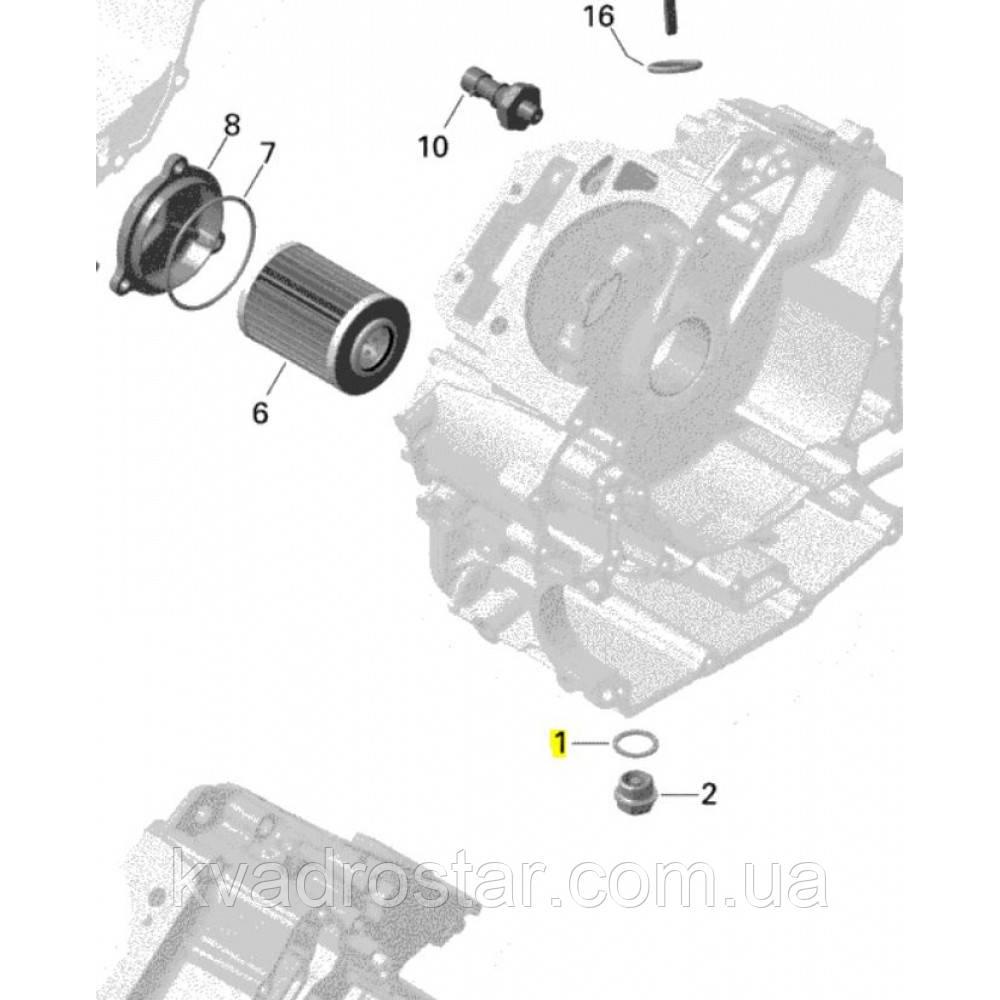 Кольцо уплотнительное сливной пробки ДВС BRP Can-Am Outlander Renegade G1-G2  420552280.
