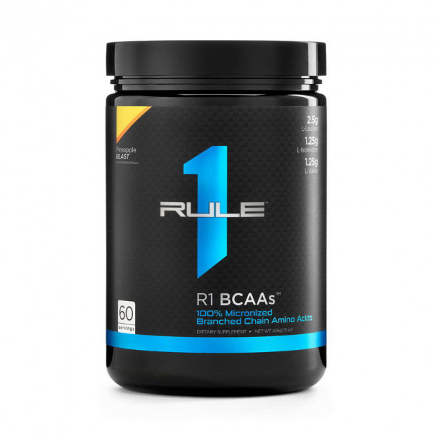 Амінокислоти bcaa R1 (Rule One) BCAAs 444 g