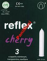 Презервативы с ароматом вишни Condoms Relfex Cherry  Упаковка 3шт.