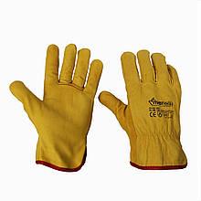 Перчатки из козьей кожи  RiverSafe 10 размер