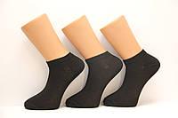 Мужские носки короткие классика Ф3  черный