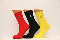 Женские носки высокие с вышивкой КАРДЕШЛЕР  яркие ассорти , фото 1