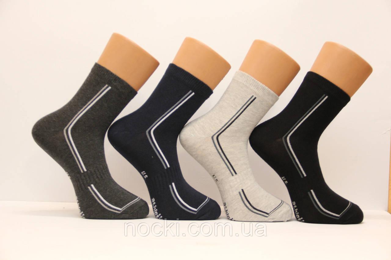 Спортивні чоловічі шкарпетки середні стрейчеві КАРДЕШЛЕР м-4 athletik