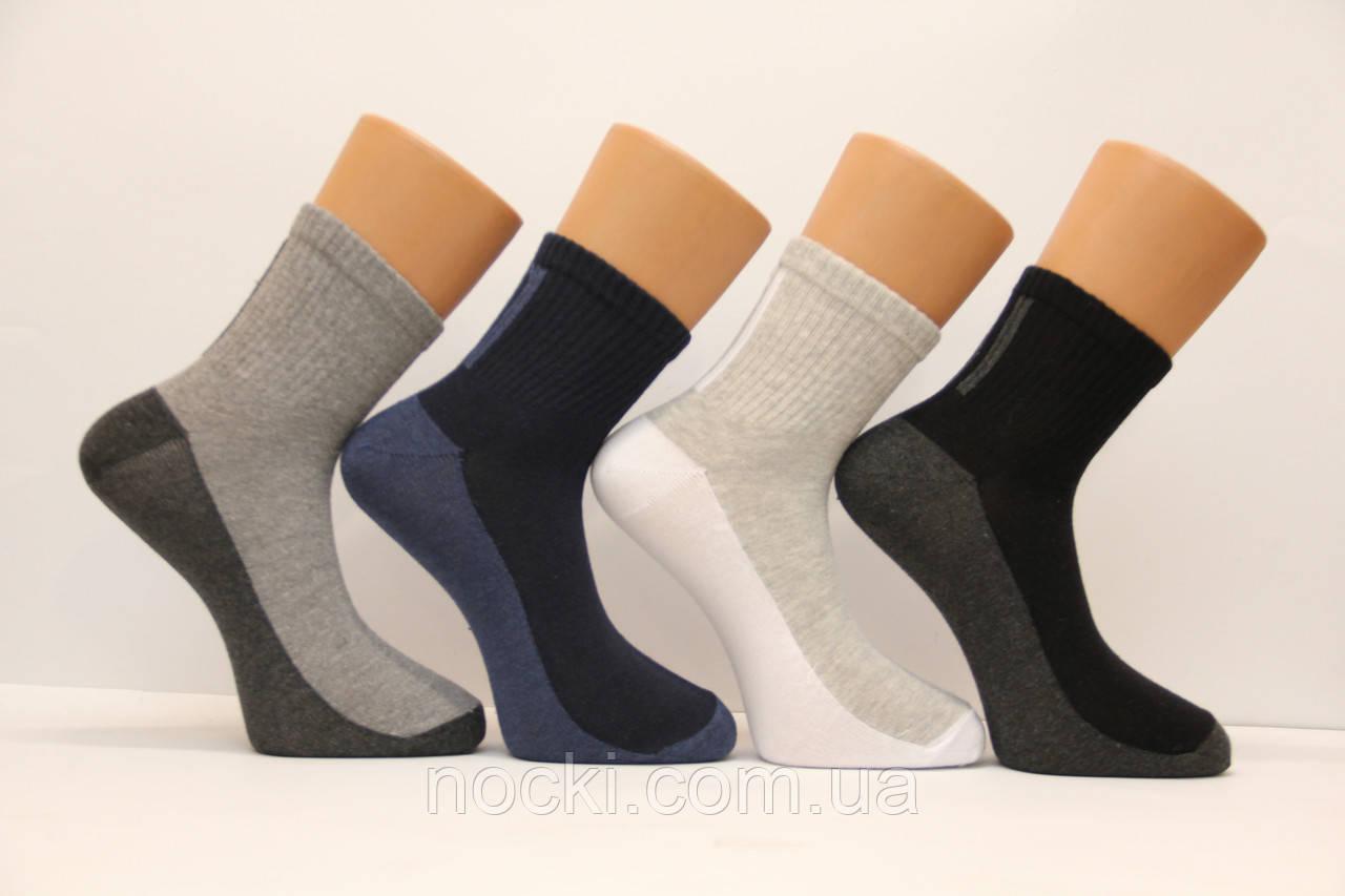 Спортивные мужские носки средние стрейчевые КАРДЕШЛЕР   м-5  с подошвой