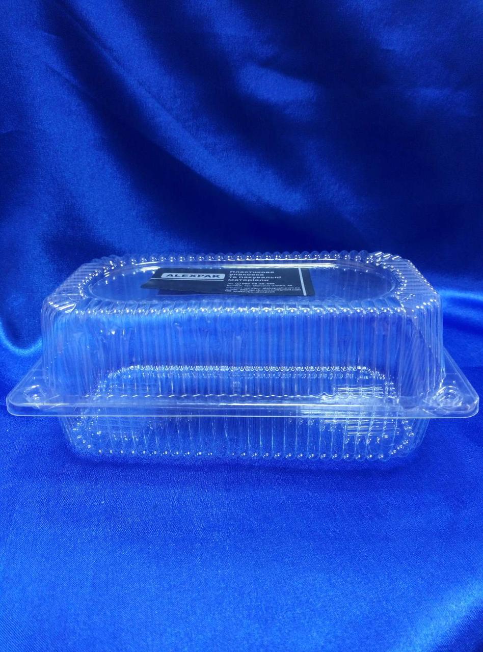 Універсальна упаковка для рулетів,тортів, печива та інших кондитерських виробів 2237 ПЕТ потовщена