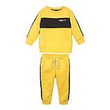 Детский желтый спортивный костюм для мальчика 1,5-6 лет, 86-92 cм, фото 2