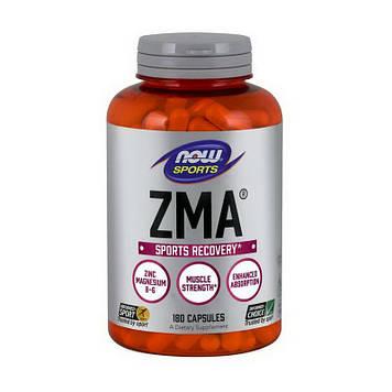 Комплекс цинка, магния и витамина В-6 Now Foods ZMA 180 капсул