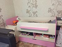 Ліжко дитяче з драбинкою Тімон 1600х800, фото 1