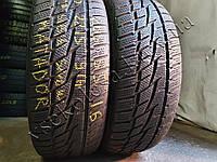 Зимние шины бу 205/55 R16 Matador