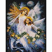 Алмазная живопись мозаика по номерам на холсте 40*50см BrushMe GF3028 Мама и дочь