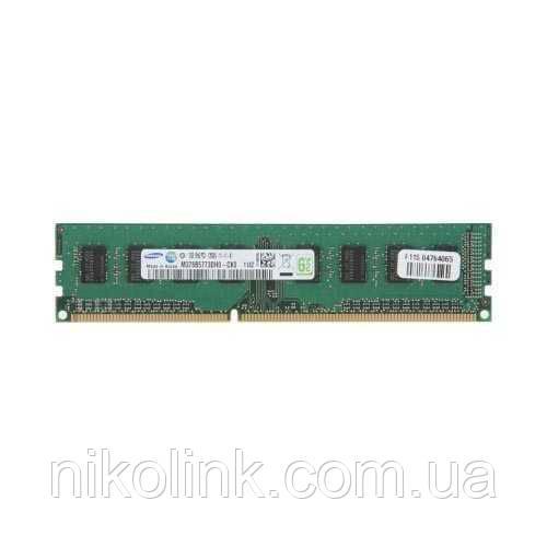 Память Samsung DDR3 2GB PC3-10600U (1333Mhz) (M378B5673EH1-CH9)(8x2), б/у