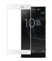 Защитное стекло 3D для Sony Xperia XA1 Plus (G3412) (G3416) (G3426) (G3421) (G3423)