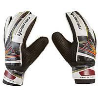 Вратарские перчатки Latex Foam REUSCH, черно-белый, размеры 5, 6, 7, 8, 9